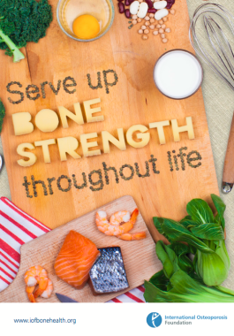 Serve Up Bone Strength Throughout Life - 2015
