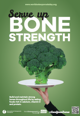 POSTERS - 2015 - Serve Up Bone Strength Broccoli