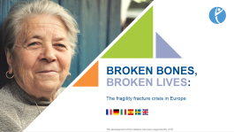 SLIDEKITS - 2018 - BROKEN BONES, BROKEN LIVES: The fragility fracture crisis in Europe