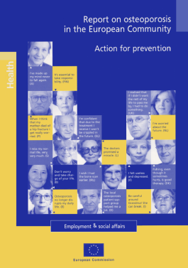 ARCHIVES - 1998 - Report on osteoporosis in the European Community, Action for prevention