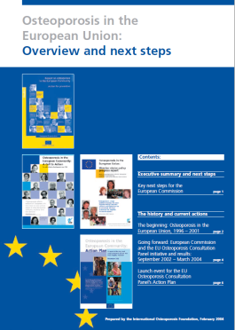 ARCHIVES - AUDITS - 2004 - Osteoporosis in the European Union: Overview and next steps