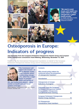 ARCHIVES - AUDITS - 2005 - Osteoporosis in Europe: Indicators of progress