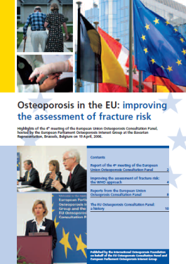 ARCHIVES - AUDITS - 2006 - Osteoporosis in the EU: improving the assessment of fracture risk