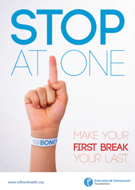 BROCHURES - 2012 - Stop At One Make Your First Break Your Last