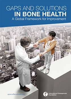 THEMATIC REPORTS - 2016 - Gaps And Solutions In Bone Health