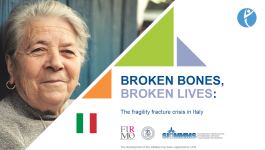 SLIDEKITS - 2018 - BROKEN BONES, BROKEN LIVES: The fragility fracture crisis in Italy