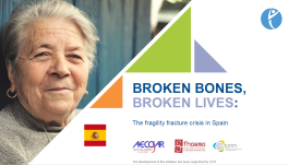SLIDEKITS - 2018 - BROKEN BONES, BROKEN LIVES: The fragility fracture crisis in Spain